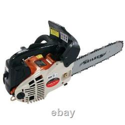 12 TOP HANDLE PETROL CHAINSAW 25cc LOPPING PRUNING LOGGING