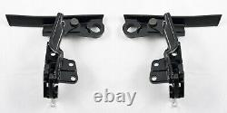 1983-1993 Ford Mustang Convertible Top Latch Lock Handle with Hooks Pair
