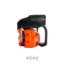 26cc 10 Petrol Top Handle Topping Chainsaw + 2 x Chains + Oils + More