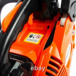 26cc 10 Petrol Top Handle Topping Chainsaw Free Bar Cover & More