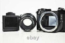 ALL Late Model TOP MINT PENTAX 67 SMC P 105mm f/2.4 Lens Hood Grip Case FromJP