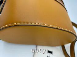 AUTH NWT Coach 1941 Trail Glovetanned Leather Top Handle Crossbody In MUSTARD