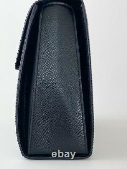 Auth Celine Paris Made In Italy Rare Top Handle Handbag Shoulder Bag Cross Body