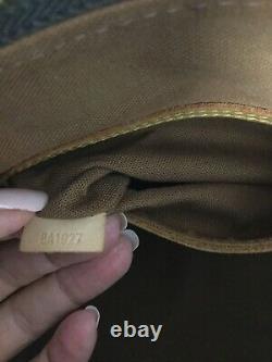 Authentic Louis Vuitton Alma PM Monogram Top Handle Bag. BA1927. VGC