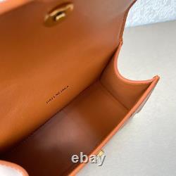 BALENCIAGA Hourglass Small Top Handle Bag in Brown For Women