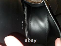 Balenciaga Small Hourglass Calfskin Top Handle Bag $2150