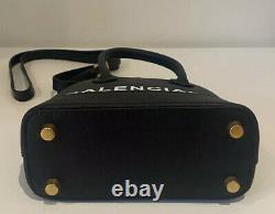 Black Balenciaga Ville Top Handle XXS Bag