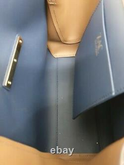 Bnwt Zac Posen Eartha Iconic Block Colour Leather Top Handle Bag Rrp$495