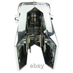 Boat Dual Control Lever Top Mount Marine Engine Throttle Motor Handle Zinc Alloy