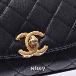 CHANEL Matrasse Small top handle flap bag black Bag 802500034241000