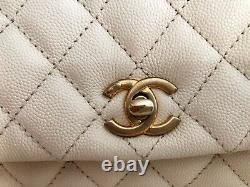 CHANEL Small Flap Bag With Top Handle
