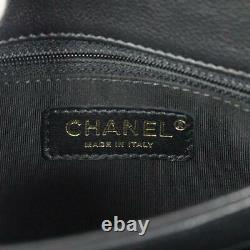 CHANEL V-stitch small top handle 2way shoulder crossbody bag A57147 Calfskin