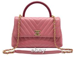 Chanel Medium Flap Bag With Top Handle