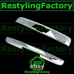 Chevy Tahoe+Suburban Chrome Rear Hatch Top Liftgate Molding+Trunk Handle Cover