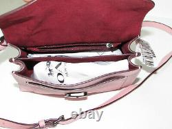 Coach Tabby 20 Powder Pink Leather Top Handle Bag 4608