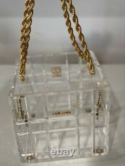 Cult Gaia Phaedra Top Handle Chain Bag