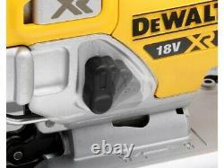 DeWalt DCS334P2 18v XR Cordless Brushless Top Handle Jigsaw 2x Batteries + Case