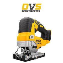 Dewalt DCS334N-XJ 18V XR Brushless Top Handle Jigsaw Body Only