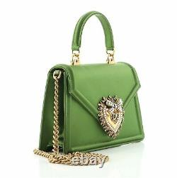 Dolce & Gabbana Devotion Top Handle Bag Satin Mini