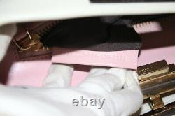 Fendi Peekaboo Medium Top Handle Cream White Bag-Very Good Condition & Authentic