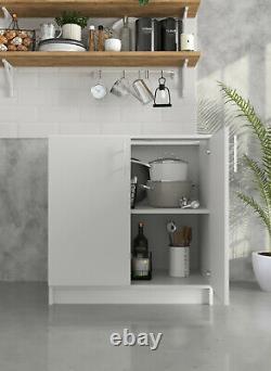 Greta Kitchen 800 Base Unit White