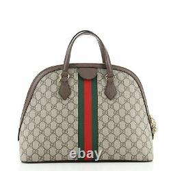 Gucci Ophidia Dome Top Handle Bag GG Coated Canvas Medium