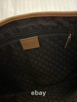 Gucci bamboo leather top handle bag Shoulder Brown Grained Jackie O