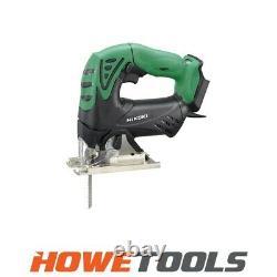 HIKOKI CJ18DSL/W4Z 18v Jigsaw top handle