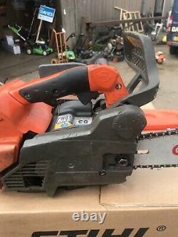 Husqvarna T540 XP 12 inch approx top handle petrol chainsaw arborist 2013