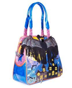 Irregular Choice Gone Batty Top Handle Bag