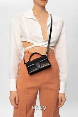 Jacquemus Le Bambino Top Handle Bag Black Authentic