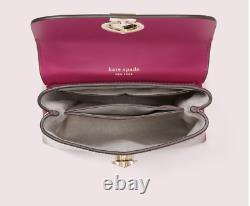 Kate Spade New York Romy Croc-Embossed Mini Flap Top Handle Satchel Italian L