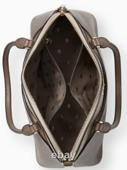 Kate Spade Payton Medium Dome Top Zip Satchel Crossbody Neutral Multi