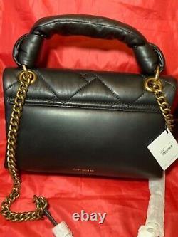Kurt Geiger London Quilted Soft Leather Kensington Top Handle Bag #20 Nwt Sale