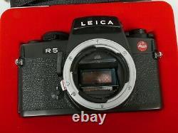 Leica R5 Nr. 1792957 sehr späte very late R5 MADE IN GERMANY Griffstück Grip TOP