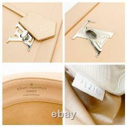 Louis Vuitton Lockme II Soft Calfskin Top Handle Mastic Beige Leather Shoulder