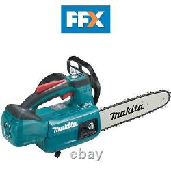 Makita DUC254Z 18V LXT Li-Ion Brushless Top Handle Chainsaw Bare Unit Body Only