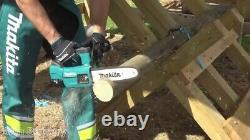 Makita DUC254Z 18v LXT Cordless Brushless 25cm Chainsaw Top Handle Bare Unit