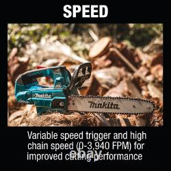 Makita XCU08Z 18V X2 (36V) Brushless Cordless 14 Top Handle Chain Saw Bare Tool