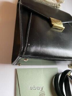 Mark Cross Satchel Top Handle Kelly Bag made in Italy
