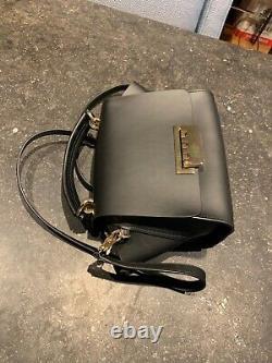 NEW ZAC Zac Posen Women's Eartha Iconic Soft Top Handle Satchel Bag Black