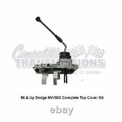 NV4500 Dodge Loaded Top Cover with Shifter Assembly, Handle & Mounting Kit 96-Up