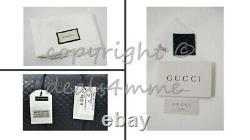NWT Gucci Large Micro GG Guccisimma Top Handle Boston Bag with Detachable Strap