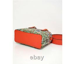 NWT TORY BURCH ROBINSON PRINTED MINI BAG TOP-HANDLE Shoulder bag