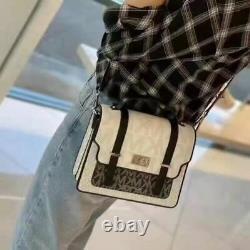 Nwt Michael Kors Tatiana Medium Top Handle Satchel Shoulder Bag Bright White