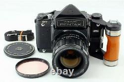 Pentax 67 6x7+grip Pentax+2 grips+2 viseurs+2 objectifs45 mm+75mm, etc. TOP PRICE