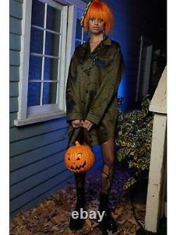 SS20 Moschino Couture Jeremy Scott PUMPKIN TOP HANDLE ORANGE BAG HALLOWEEN