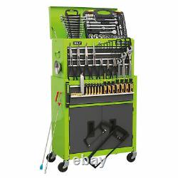 Sealey AP2200COMBOHV 6 Drawer Top Chest & Roll Cab with 128 pce Tool Kit