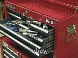 Sealey American Pro 9 Drawer Top Chest Tool Box Ball Bearing Runners AP22509BB