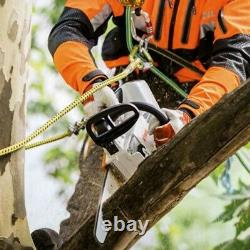 Stihl MSA 161 T battery top handled chainsaw 10 inch bar, 2 batterie & charger